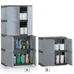 view in our catalog janitorial supplies cabinets rubbermaid plastic storage cabinets